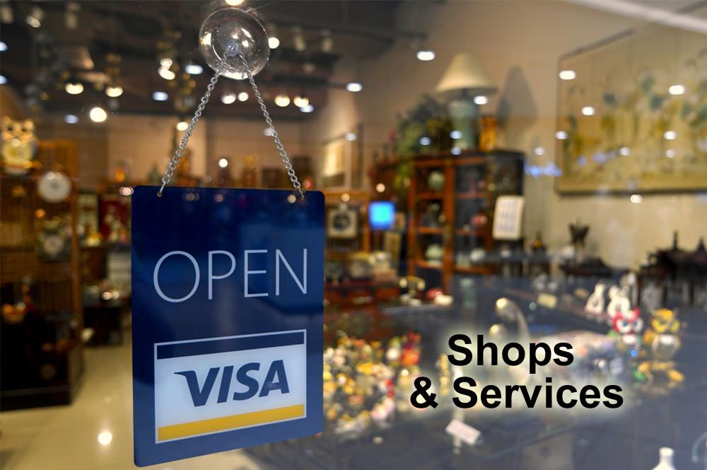 California Shops & Services