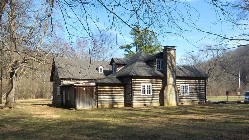 Lincoln Tavern at Knob Creek. Built in 1931 the tavern was a local bar and dance hall until 1942 when the county voted itself dry., photo courtesy NPS.