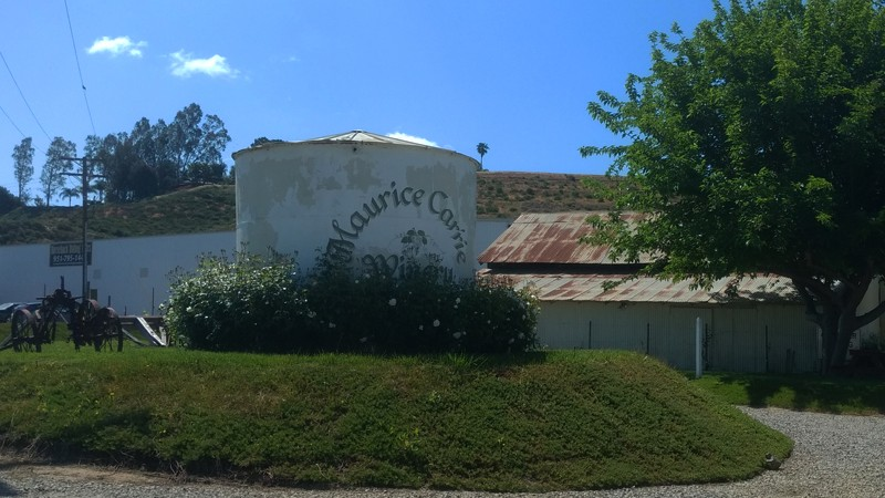 Cilurzo's barn today - Maurice Carrie Winery