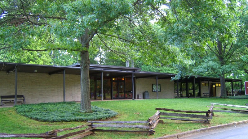 Abraham Lincoln Birthplace National Historical Park Visitor Center, photo courtesy NPS.