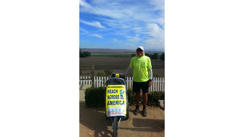 Jim Ostdick Walks Across America