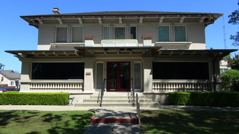 San Benito County Historical Society Museum - Wapple House