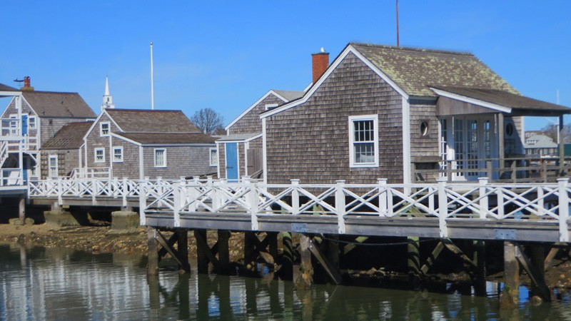 Nantucket's Popular Grey Shingled Buildings