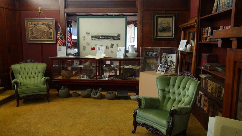 Inside San Benito County Historical Society Museum