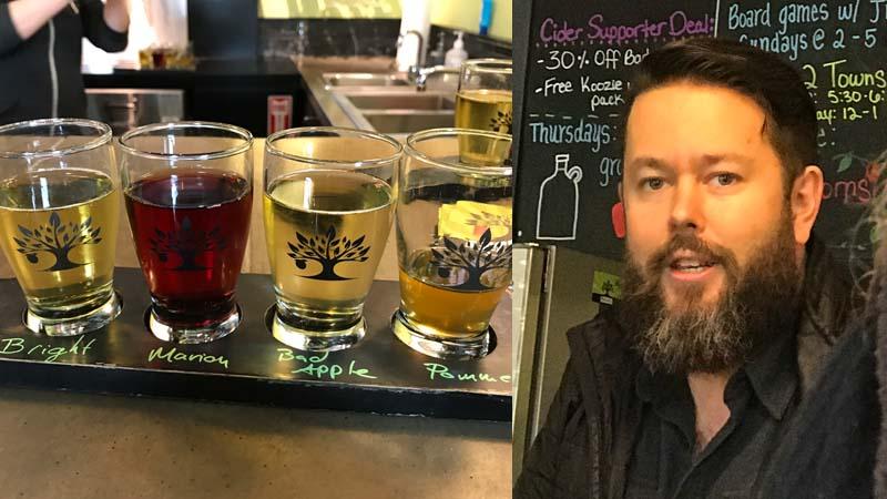 Towns Cider tasting