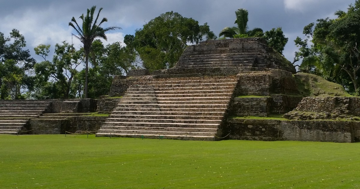 Altun Ha Archaeological Reserve - Belize