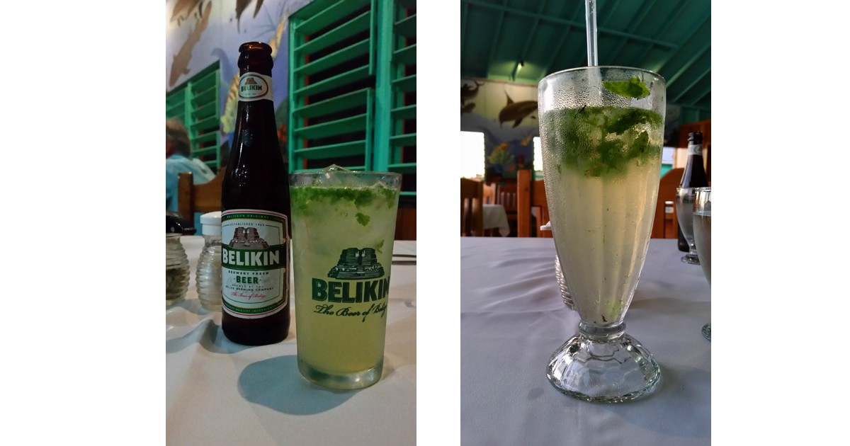 Belikin Beer & Mojitos - Belize