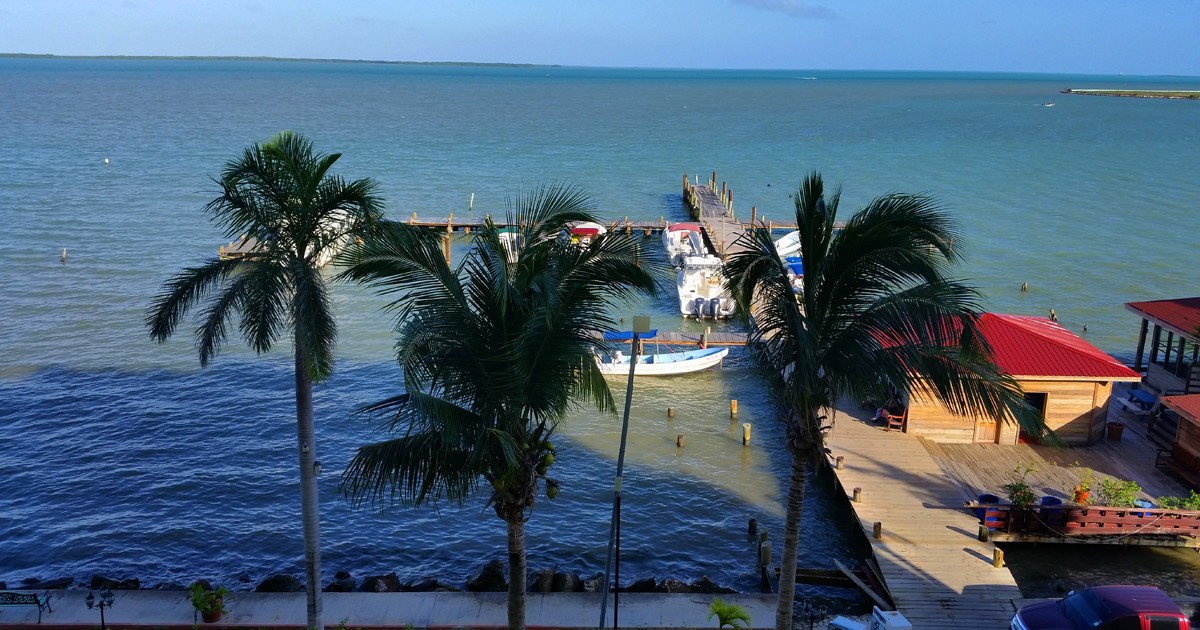 Belize - View from Ramada Princess Hotel