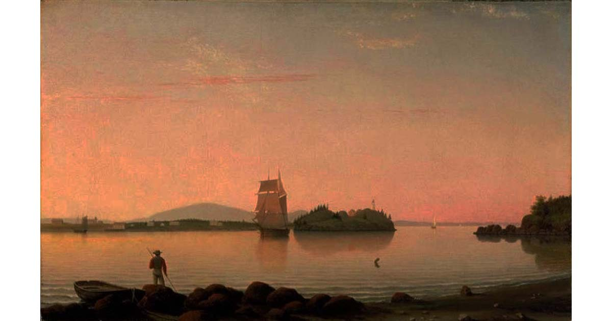 Fitz Hugh Lane - Owl's Head, Penobscot Bay, Maine