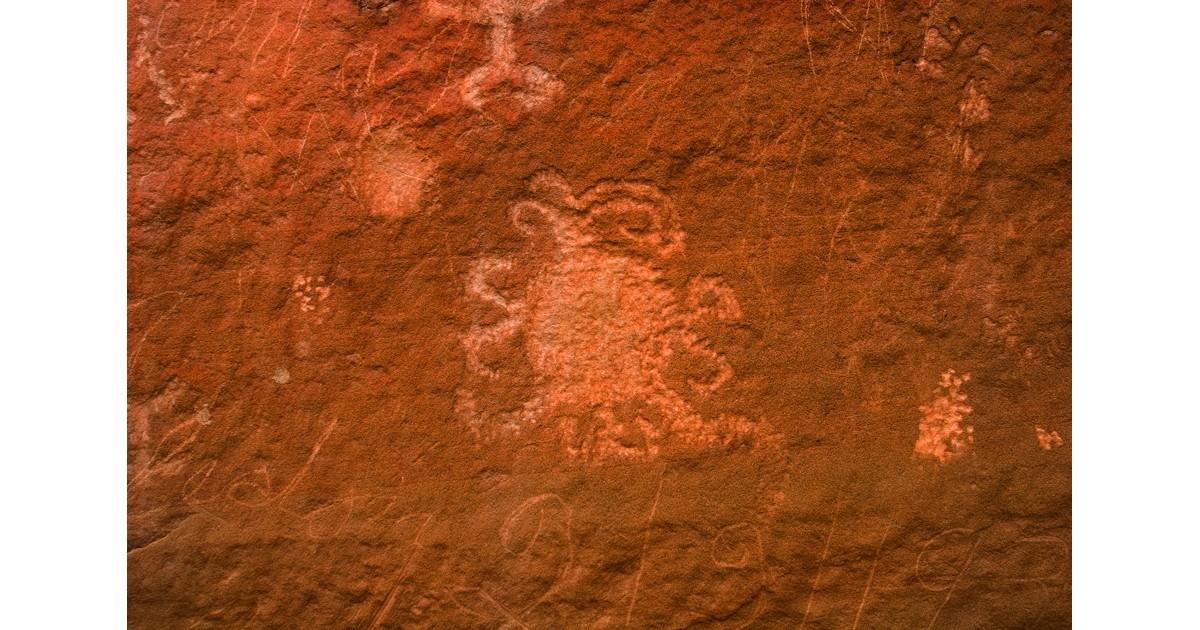 Petroglyphs at Chaco Culture NHP- NPS