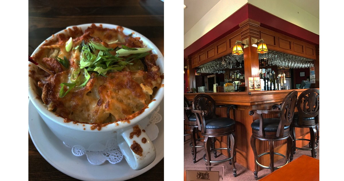 Salt Pub Dungenes Mac N Cheese and the Shelburne Inn Pub