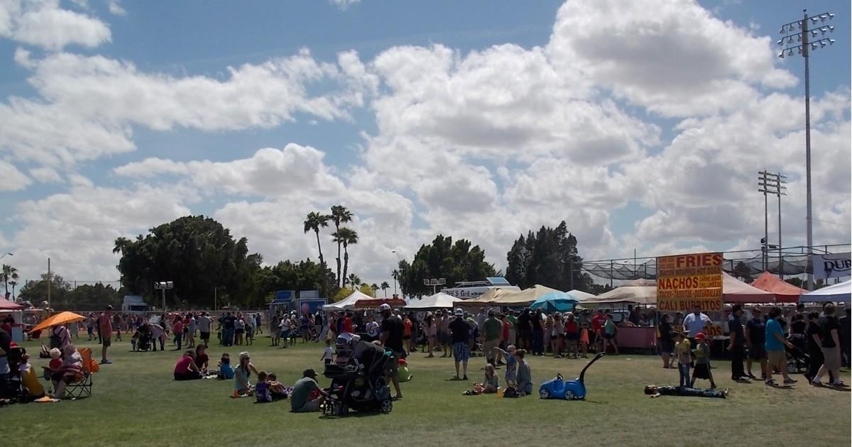 Festival at Desert Sun Stadium - Ray Kroc Sports Complex -Photo:  City of Yuma