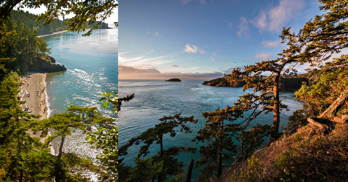 Deception Pass & Whidbey Island
