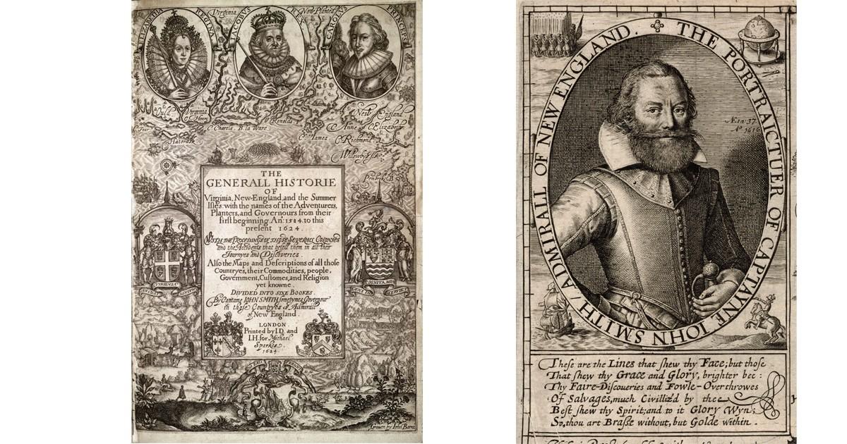 History of Captain John Smith