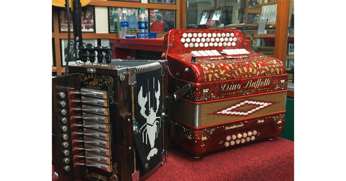 Custom made accordions by Martin Accordions
