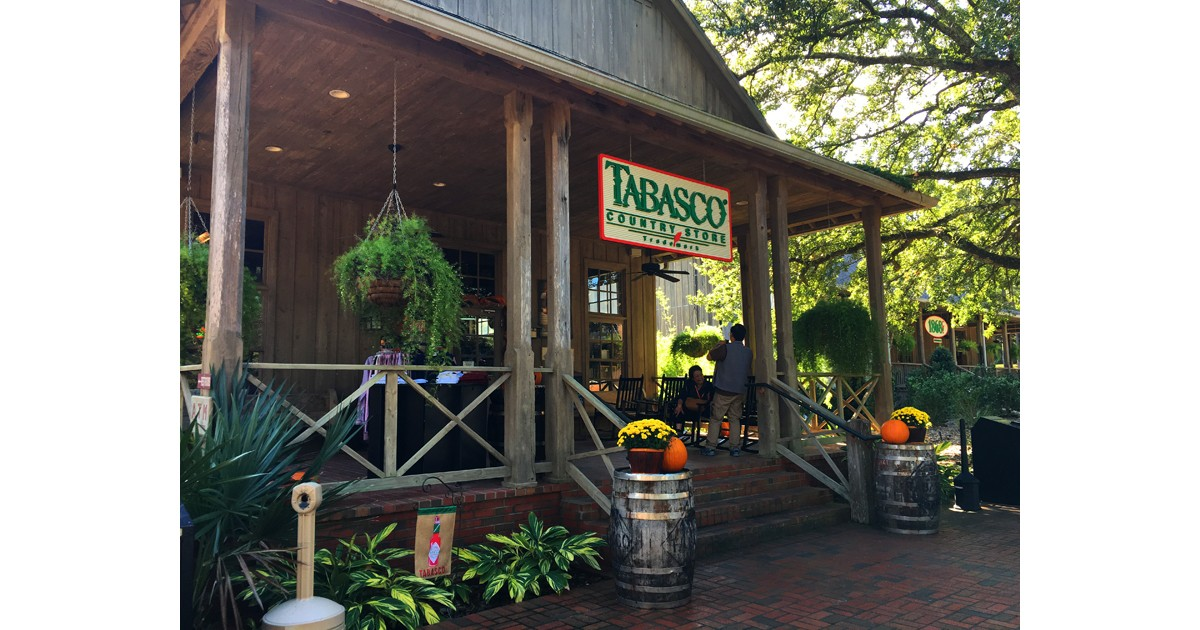 Taste different TABASCO sauces at the general store