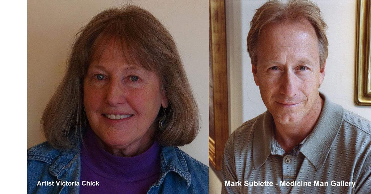 Victoria Chick & Mark Sublette
