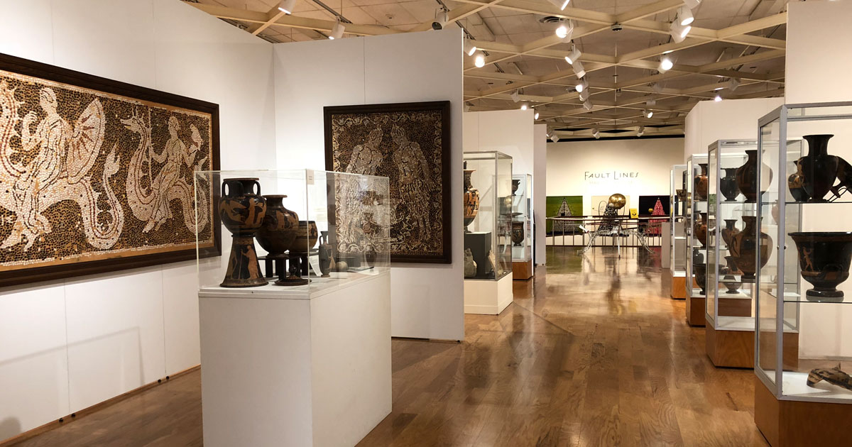 The University Museum has the largest Greek and Roman antiquities collection in the South