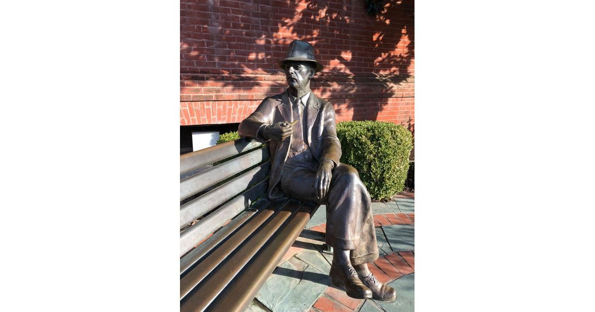 William Faulkner Statue