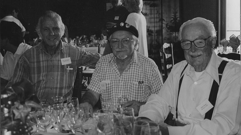 John Moramarco, Vince Cilurzo, Philo Biane -Brookside Winery