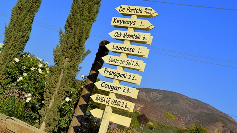 Wine Country Sign, Temecula