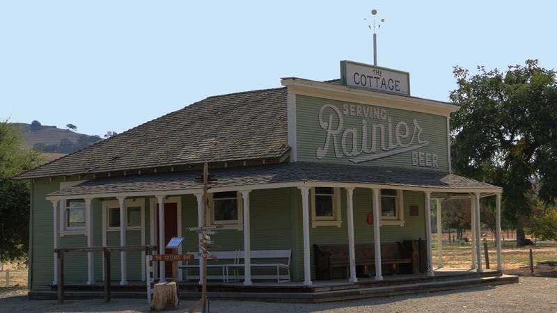 Cottage Saloon at SBC Historical Park