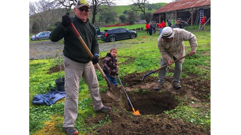 Tree Planting at SBC Historical Park