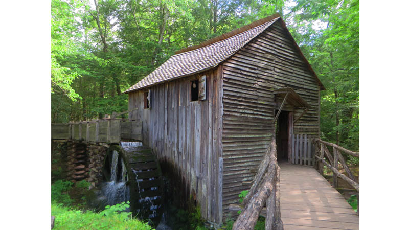 Cabel Mill at Cades Cove by Debbie Stone