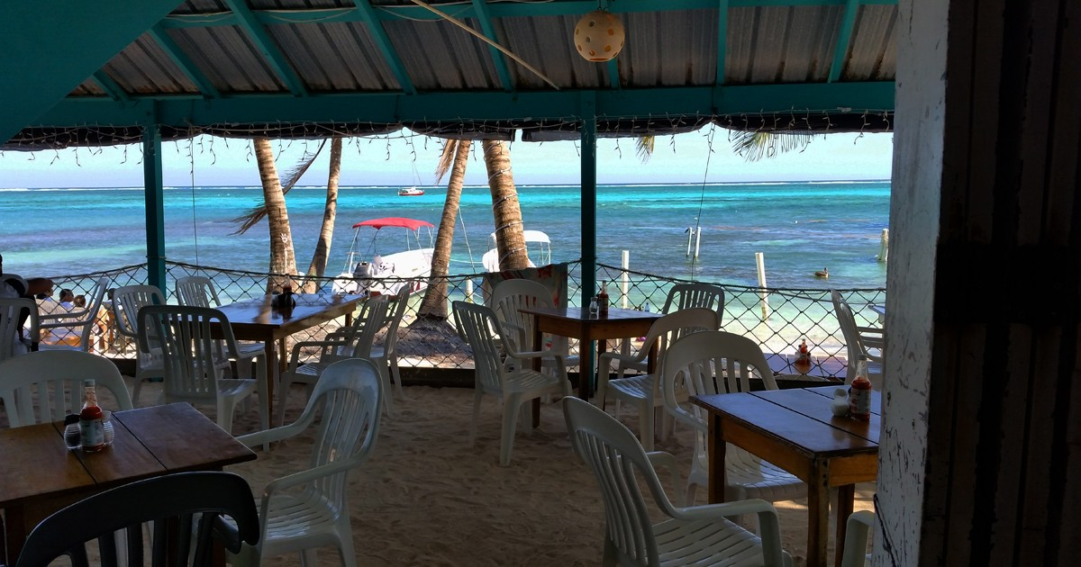 Bar in San Pedro - Belize