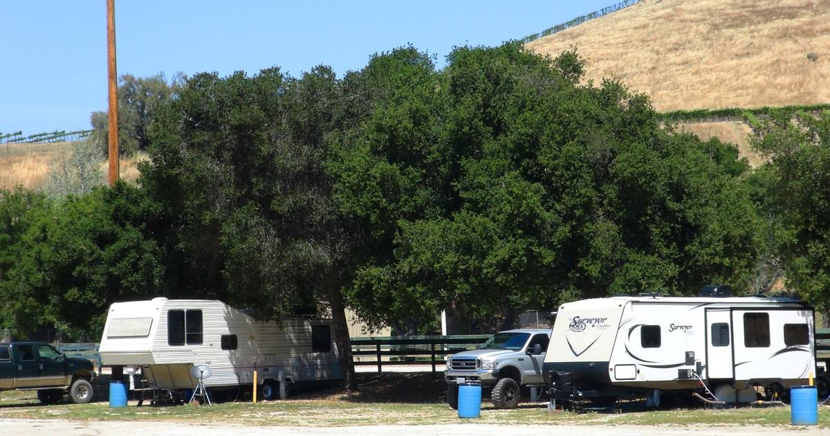 RV Parking - Bolado Park Event Center - Tres Pinos, CA