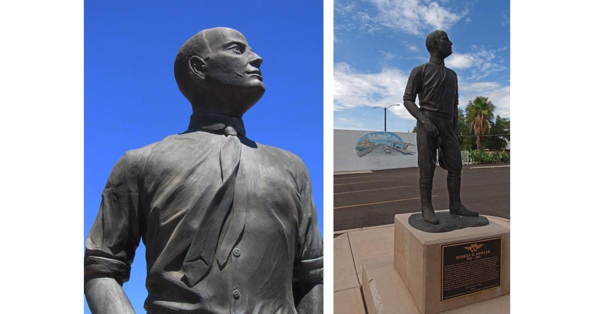 Robert Fowler Memorial - Yuma, AZ