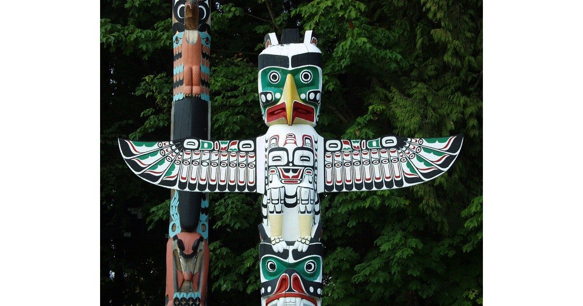 Totem Poles in the Pacific Northwest