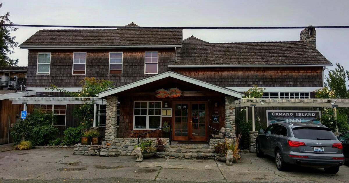 Small and full of history - the Camano Island Inn.