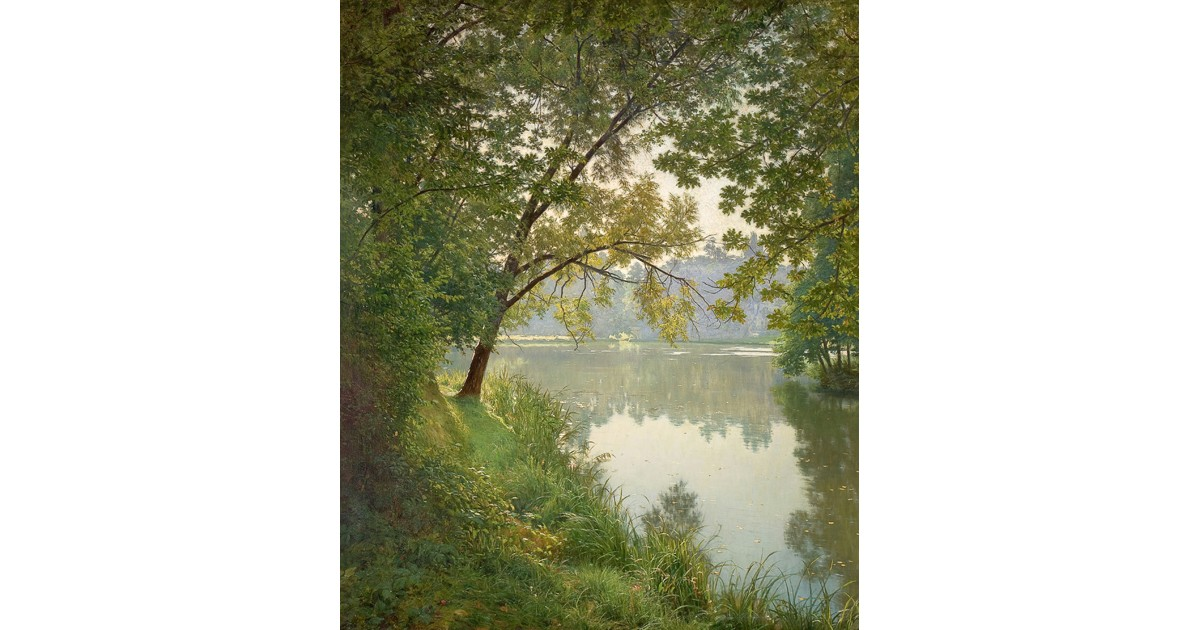 Matin Villeneuve (From Waters Edge), c. 1905, by Henri Biva