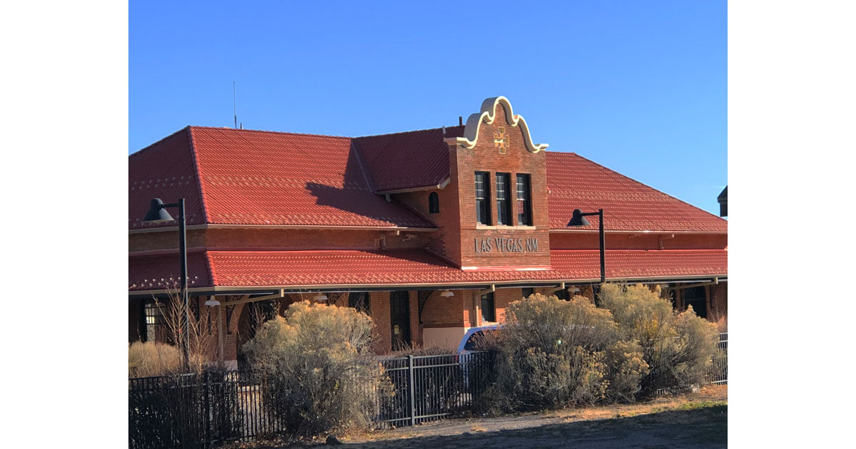 Las Vegas train depot
