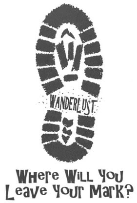 Wanderlust - Where Will You Leave Your Mark?
