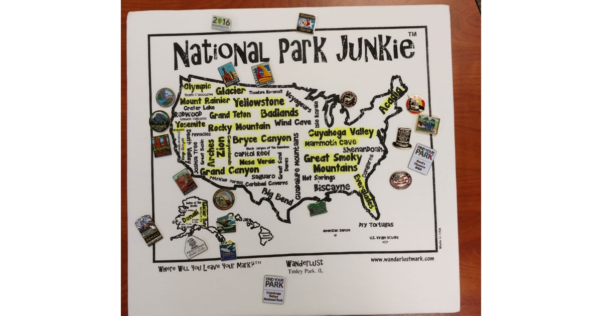 WanderLust for National Park Junkies!