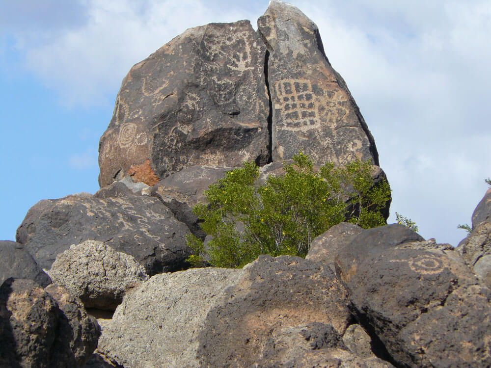 Painted Rock Petroglyphs