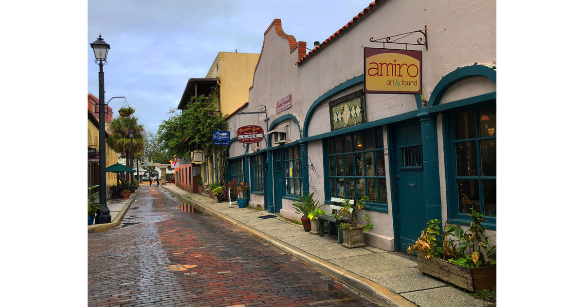 Aviles Street, St. Augustine, Florida
