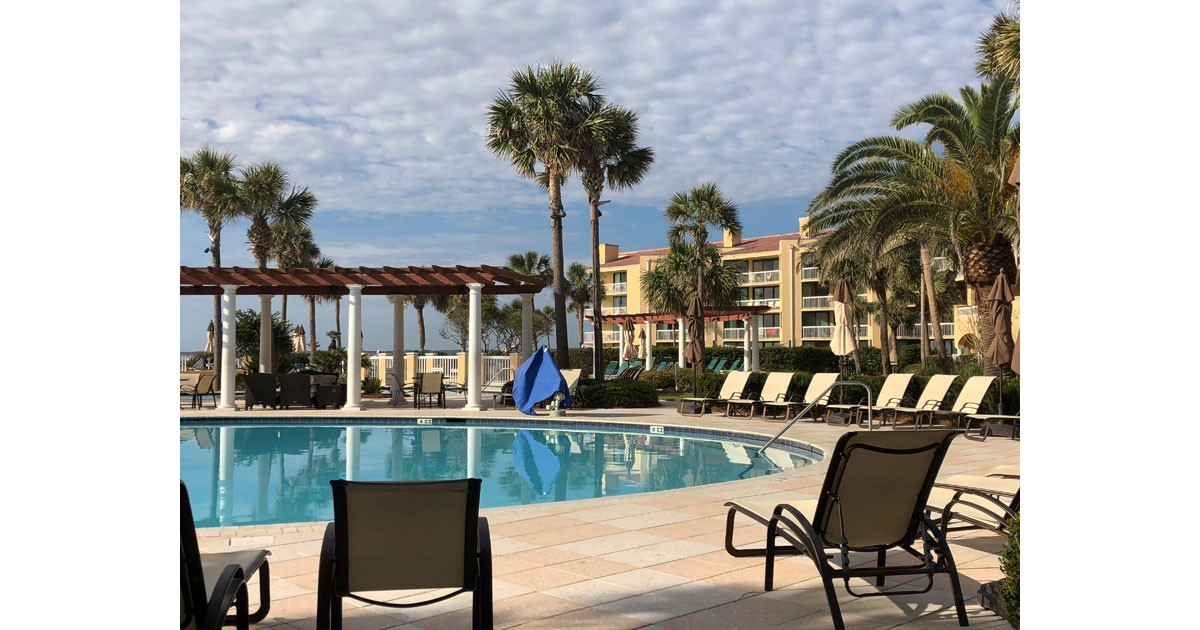Poolside at King and Prince Resort