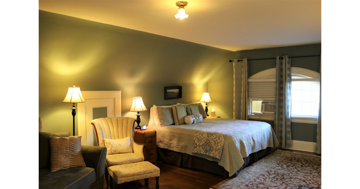 A suite at the Leonard on Logan