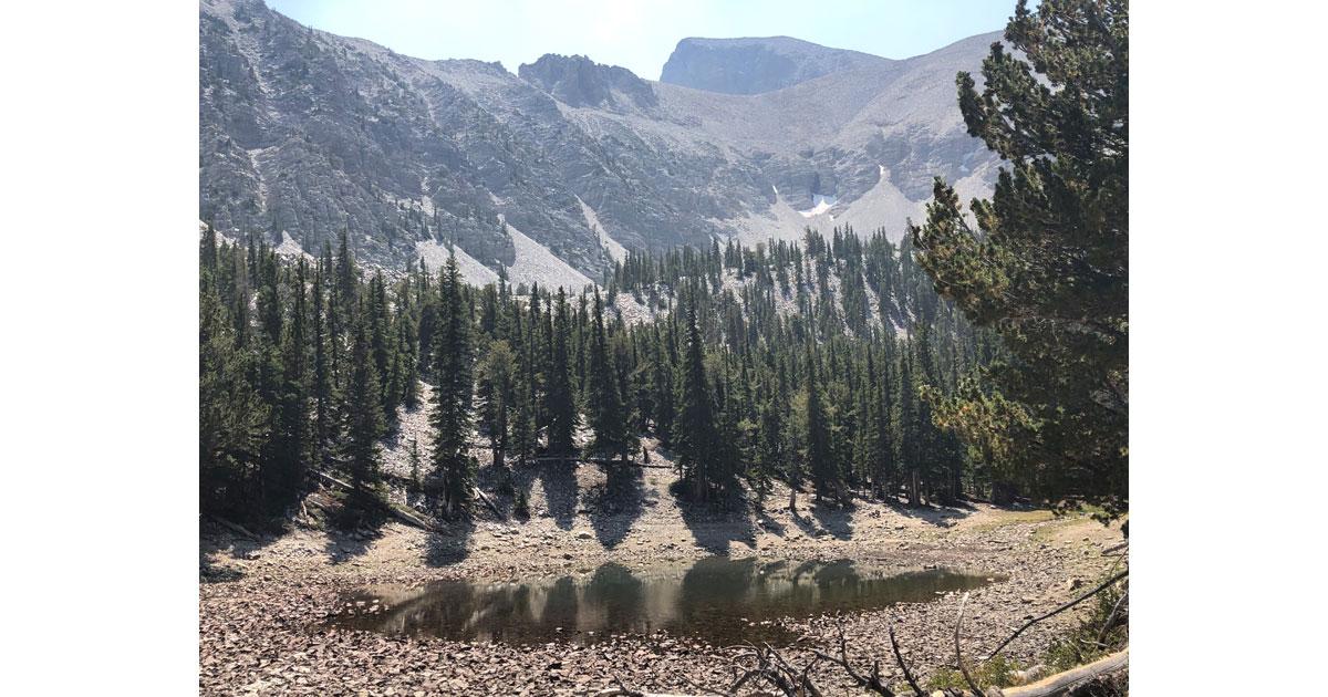Alpine lakes region