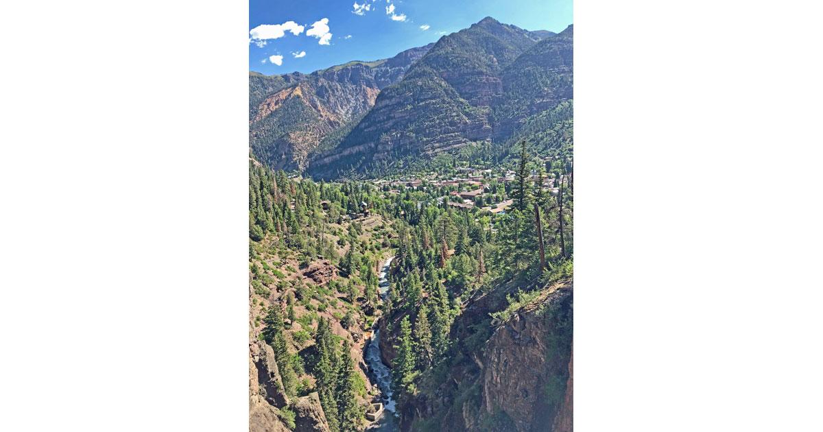 An alpine wonderland