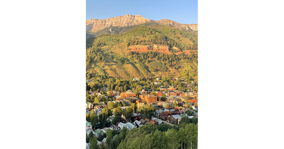 Another View of Telluride from the gondola.
