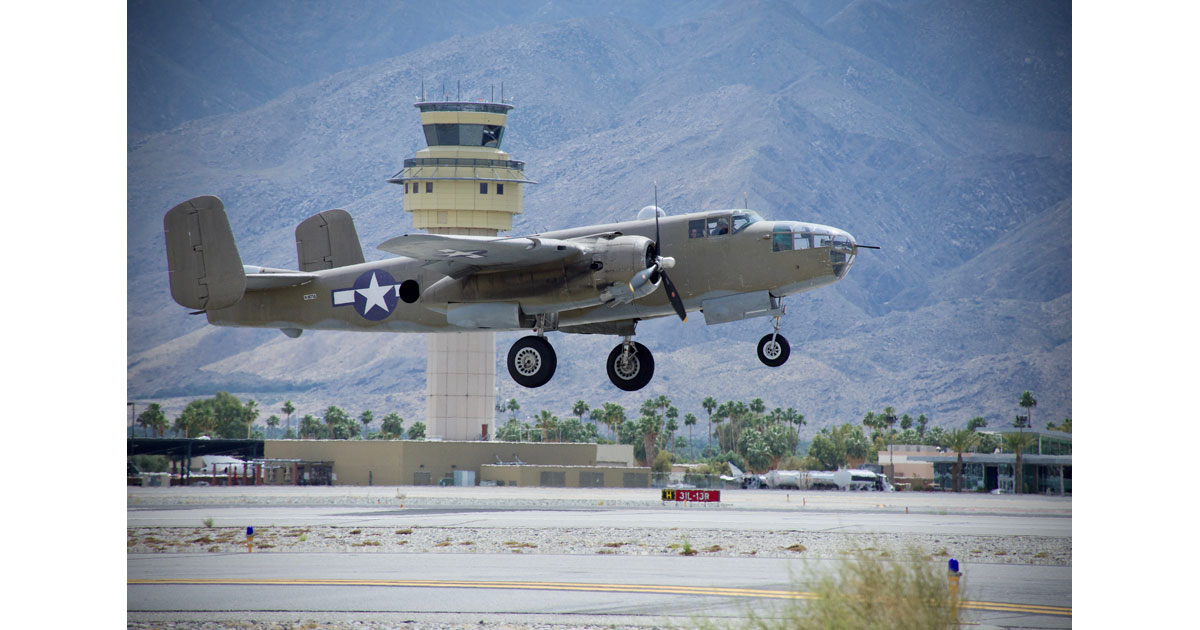 B-25 Takeoff, Air Museum