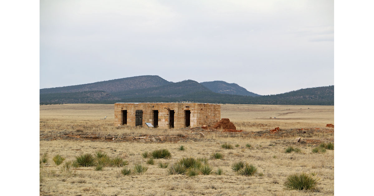 Barracks at Fort Union National Monument