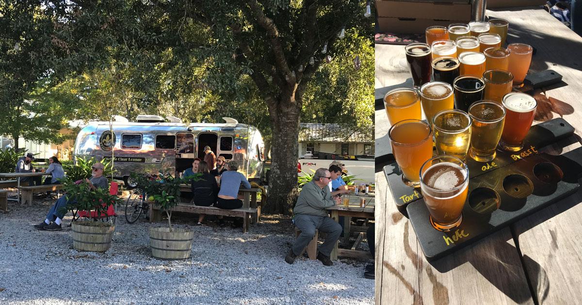 Bayou Teche local Brew Tasting