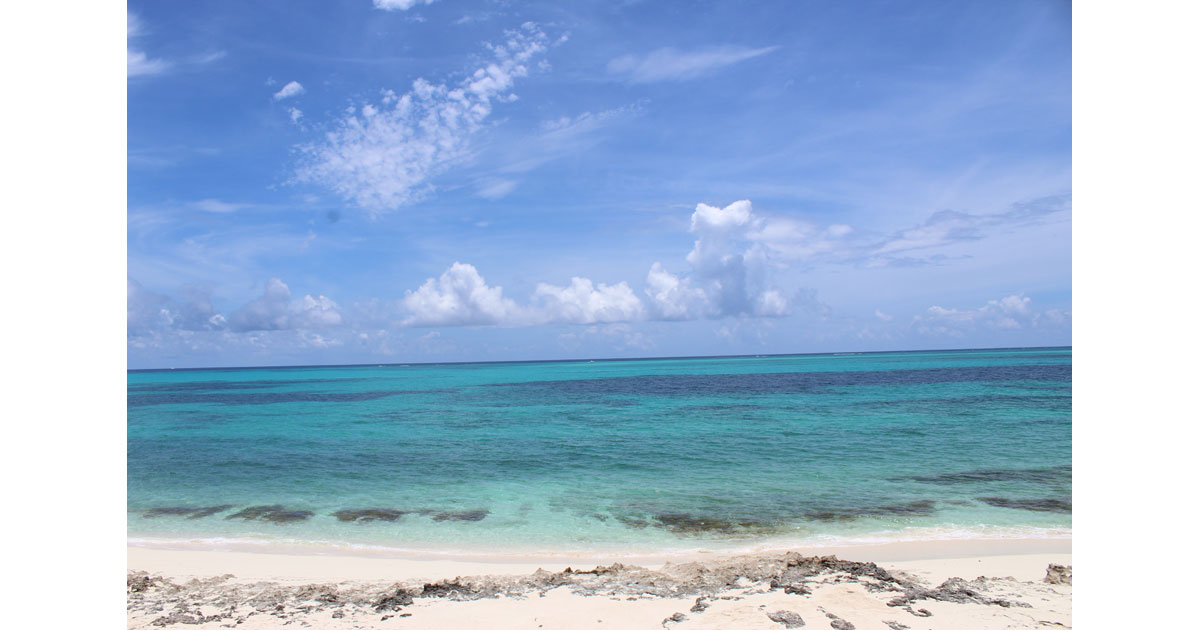Beach, Man O War Cay, Abacos, Bahamas