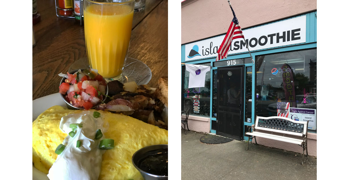 Calico Inn Breakfast & Island Smoothie