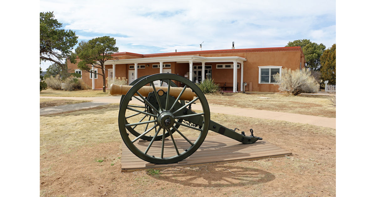 Cannon at Fort Union National Monument
